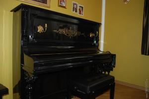 Pianino po całkowitej renowacji